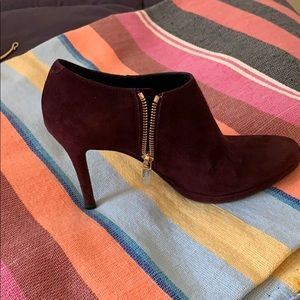 Shoes - L. K, Bennet suede booties